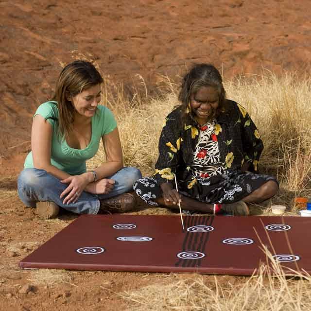 aborigènes centre rouge australie