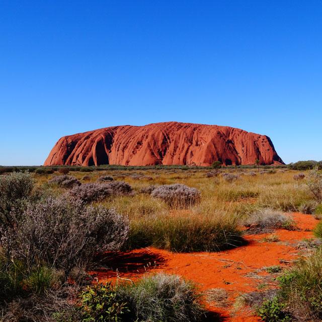 ayers rock australie