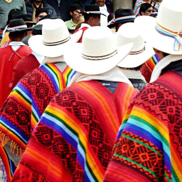 Péruviens à Cusco voyage au Pérou