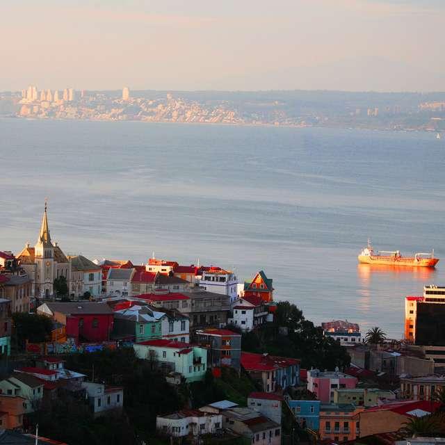 Voyage au Chili - Valparaiso