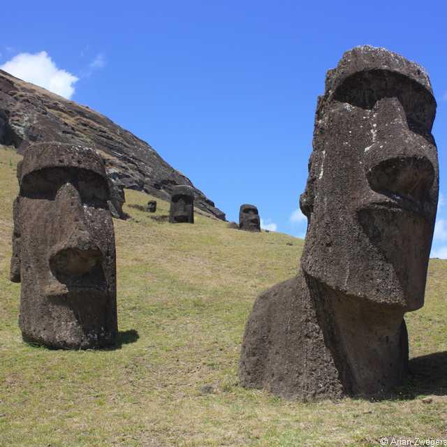 Voyage au Chili - Île de Pâques