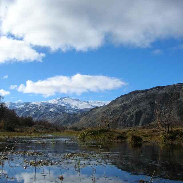 Voyage en Patagonie- Lac et montagne