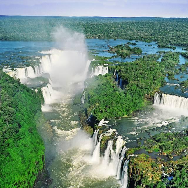 Voyage au Brésil, iguazu
