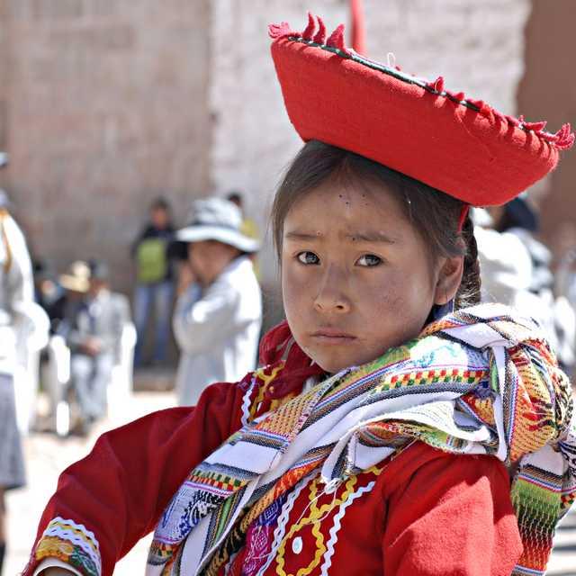 Voyage au Pérou - Péruvienne, Mari fanfan