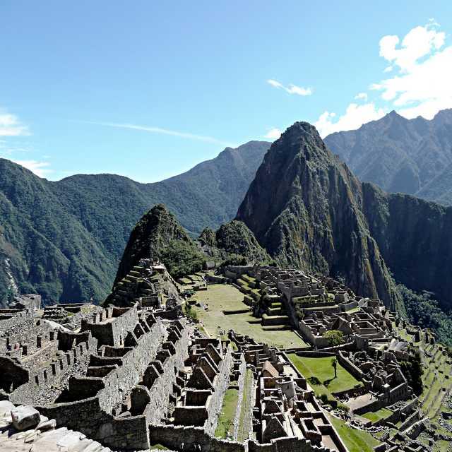 Voyage au Pérou - Machu Picchu