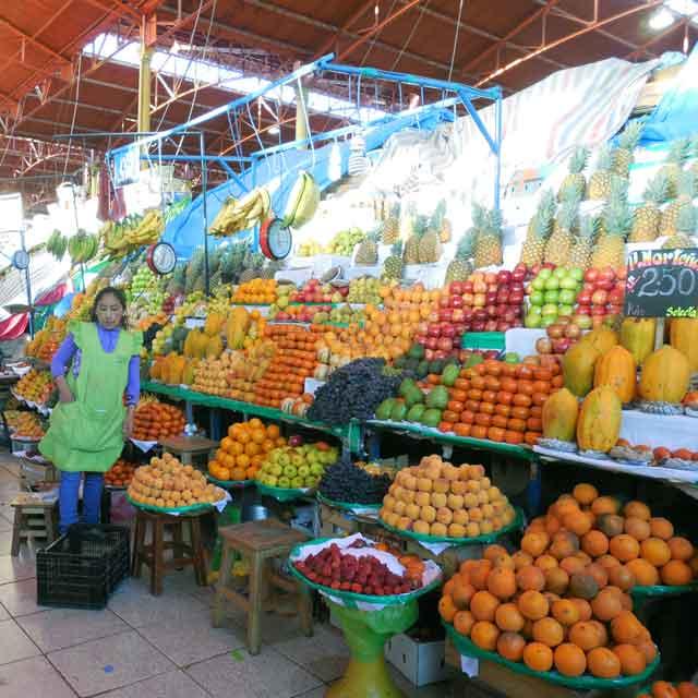 Marché d'Arequipa, Pérou