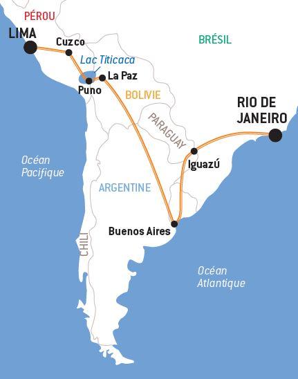 Populaire Amérique Latine Essentielle | Circuit en groupe Amérique du Sud | WC58