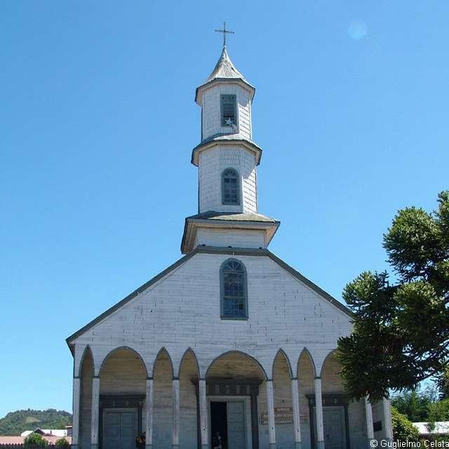 Voyage au Chili - Eglise de Dalcahue
