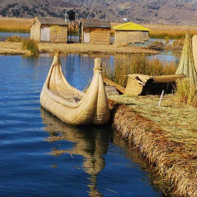 îles Uros , Lac Titicaca, Pérou