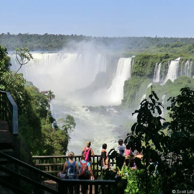 Voyage en Argentine - Chutes d'Iguazu coté brésilien