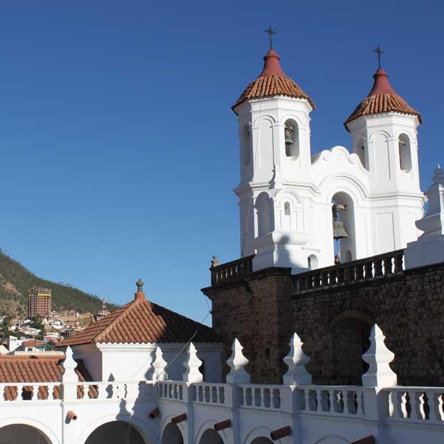 Eglise de Sucre, Bolivie