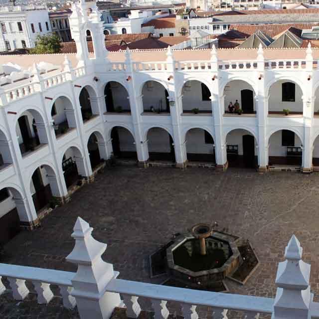 Voyage guidé en Bolivie - Sucre Monastère - Circuit guidé Bolivie et Pérou