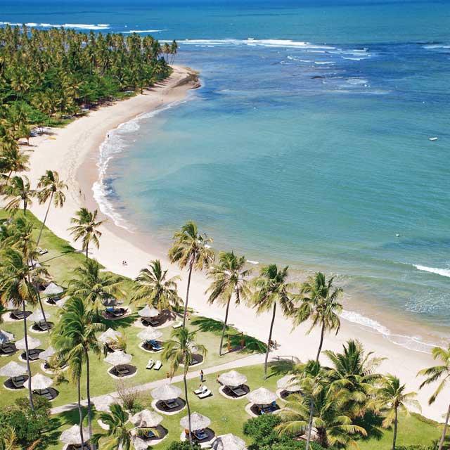 Plage du Tivoli Hotel and Resort, Voyage au Brésil