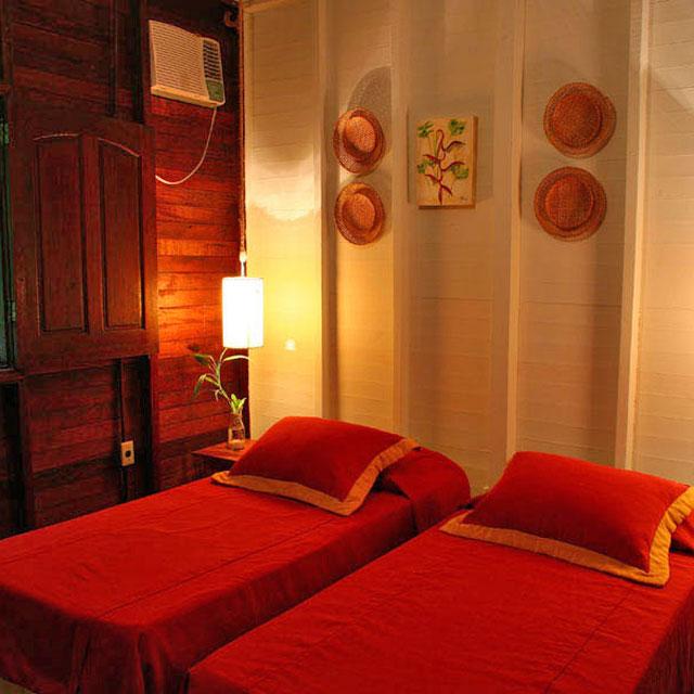 Chambre Amazon Eco Park Lodge Brésil, Voyage au Brésil