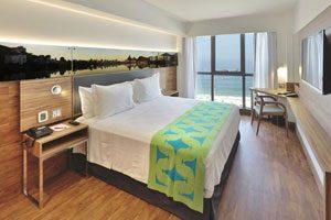 hotel charme brésil bresil arena leme