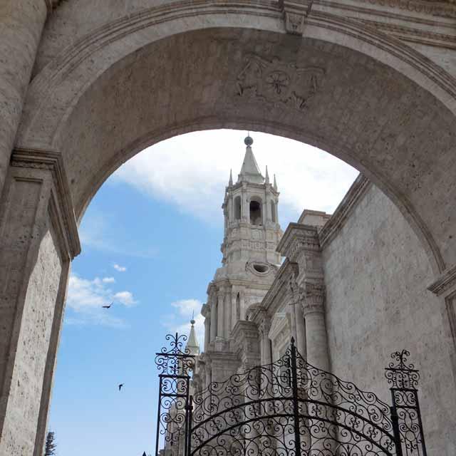 Cathédrale Arequipa, Pérou
