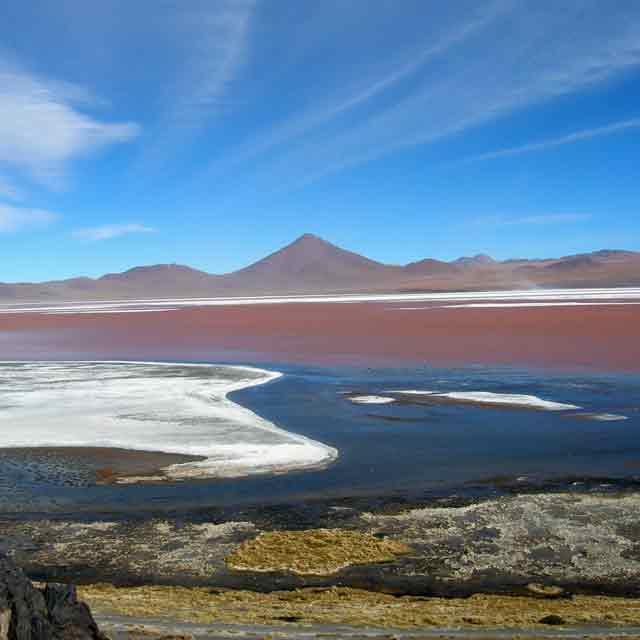 Laguna colorada Sud Lipez, Bolivie