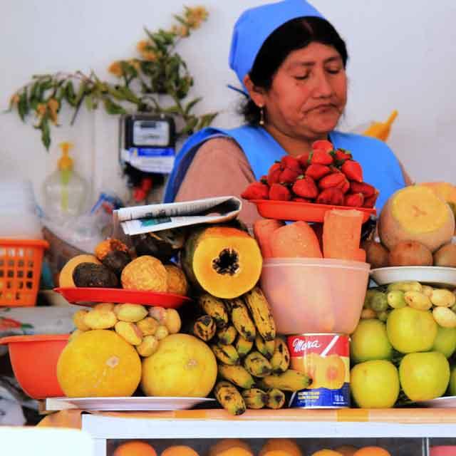 Marché Sucre, Bolivie