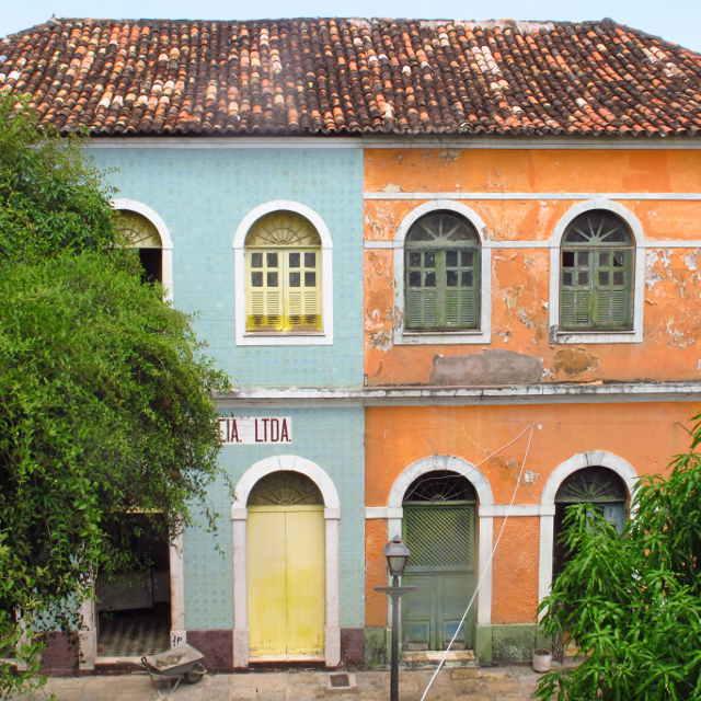 Sao Luis, Voyage au Brésil