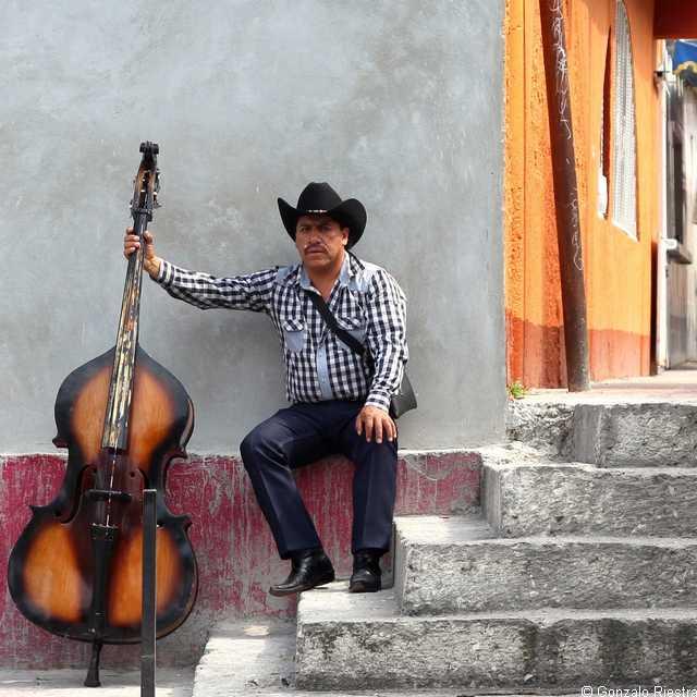 Voyage au Mexique - Musicien