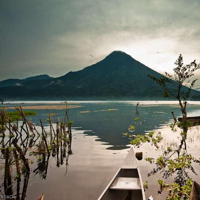Voyage au Mexique - Guatemala, Lac Atitlán