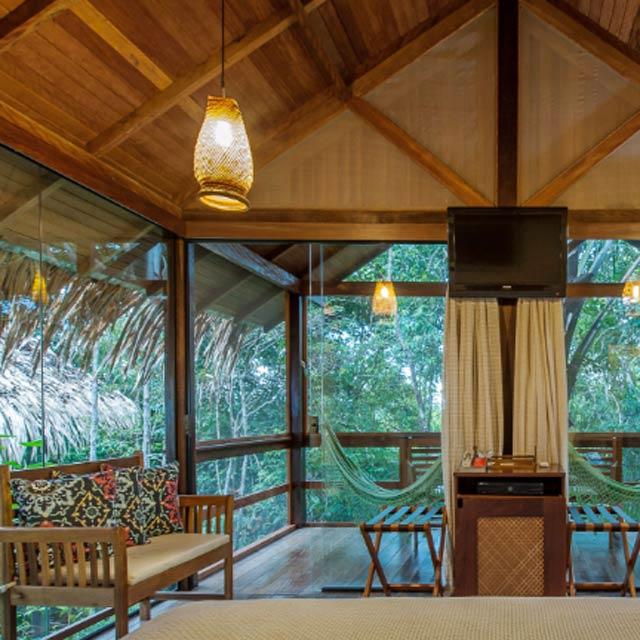 Bungalow Anavilhanas Jungle Lodge Brésil
