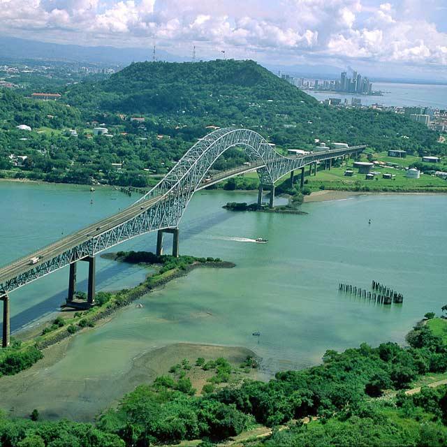 Canal de Panama, Voyage Panama