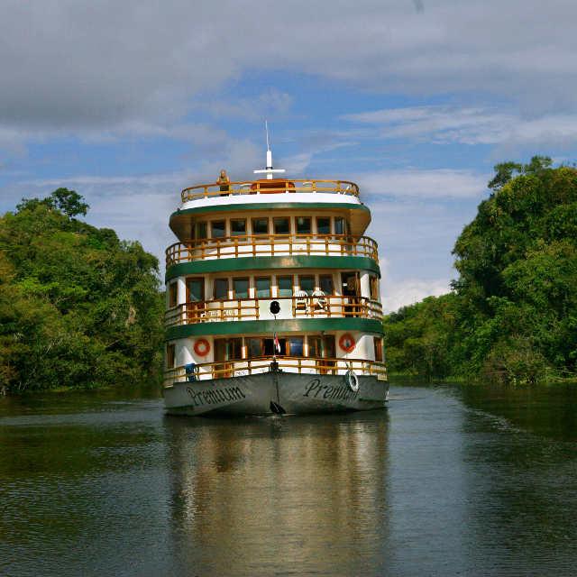 Croisière en Amazonie, Voyage au Brésil