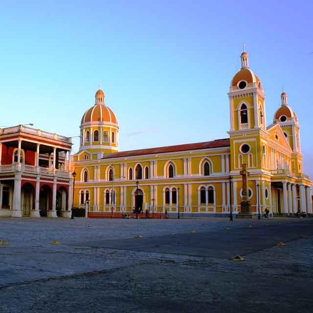 granada cathedrale, Voyage au Nicaragua