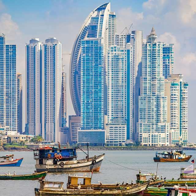 Port de Panama City, Voyage Panama