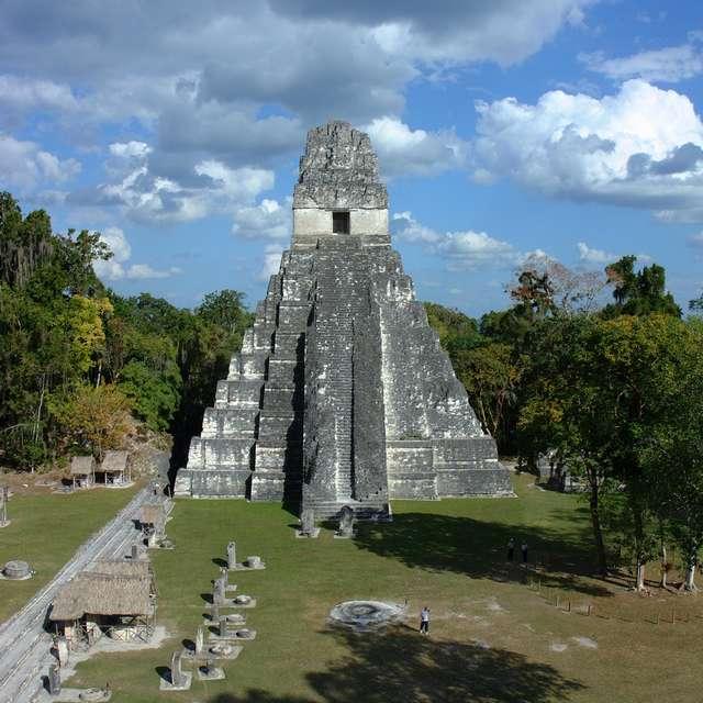 Voyage au Mexique - Guatemala, Tikal