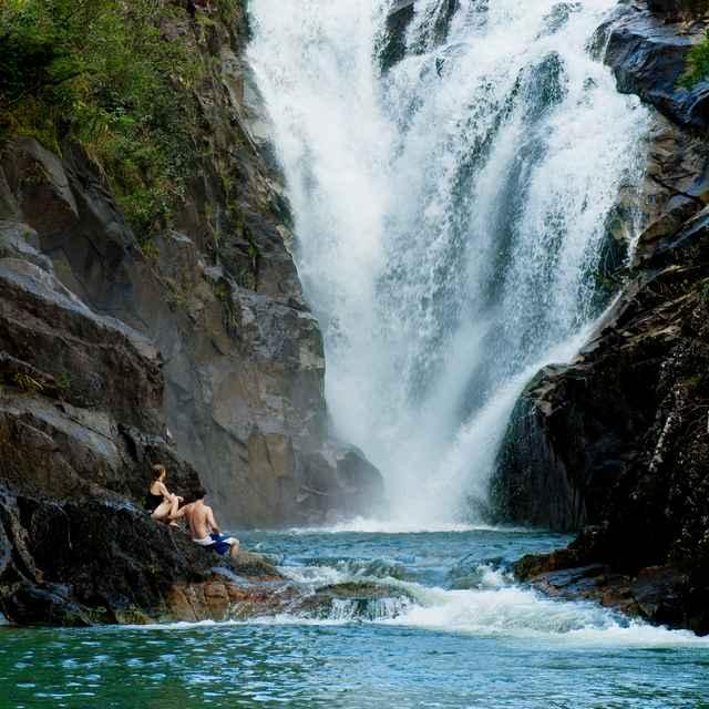 Voyage au Belize - Cascades