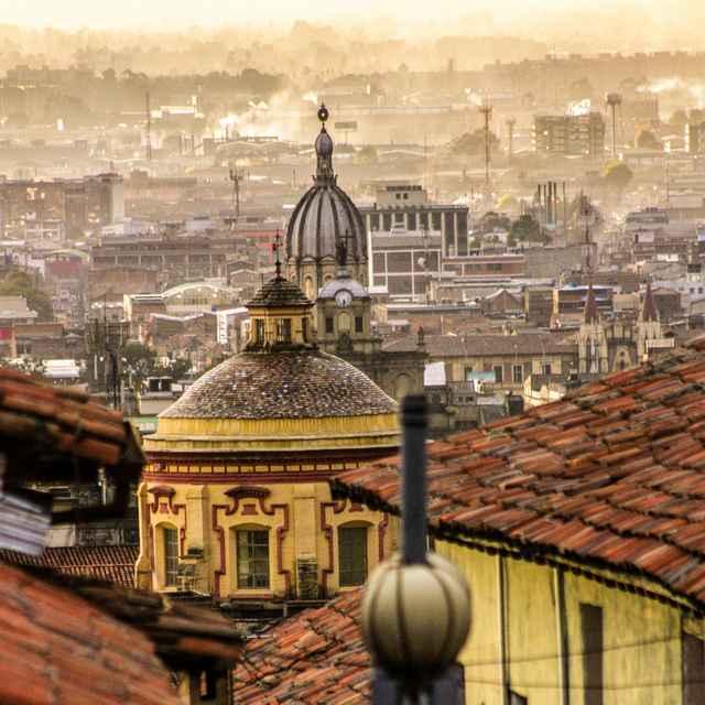 Voyage en groupe en Colombie - Bogota