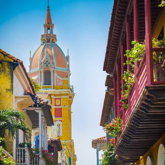 Voyage guidé en français en Colombie - Carthagène