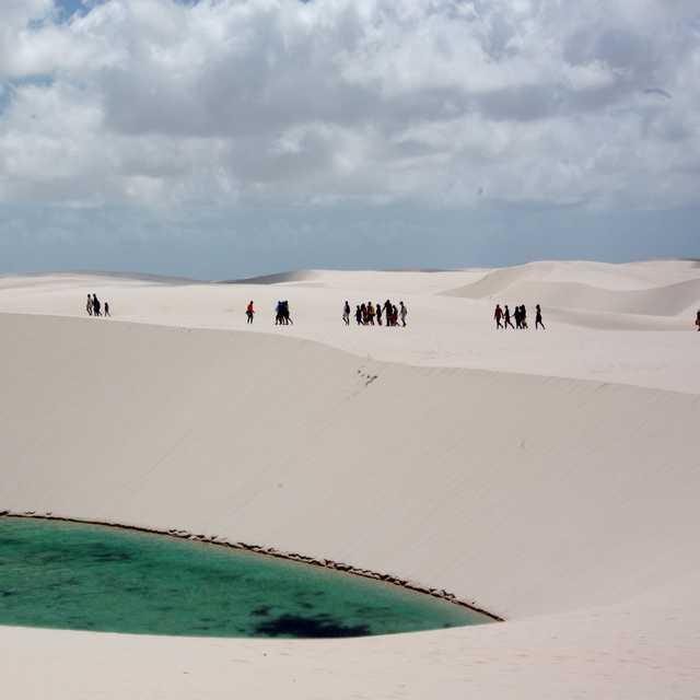 Voyage en groupe au brésil - Lençóis Maranhenses