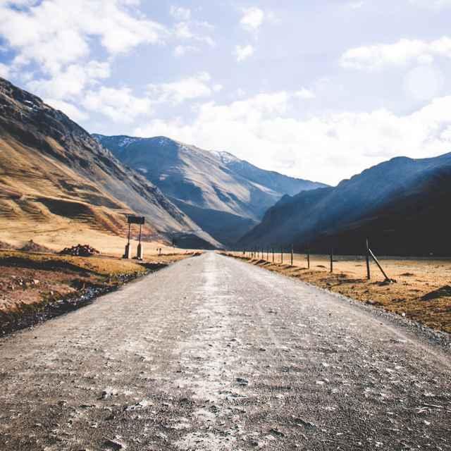 Autotour au Pérou - Route
