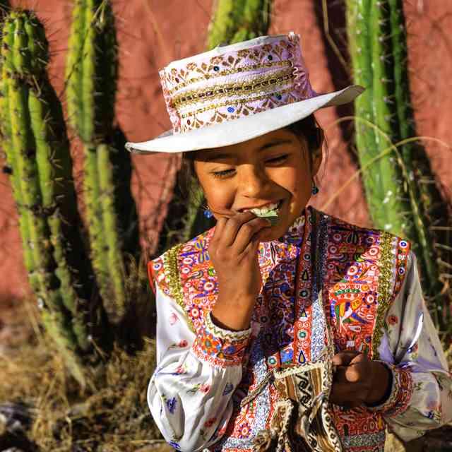 Voyage de luxe au Pérou - Péruvienne